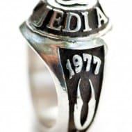 Pagan Idolatry Jedi Academy Class of 1977 Ring Geeky Stuff to Buy