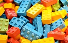 Building blocks that you can eat.