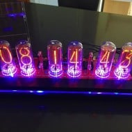 Pramanicin Outstanding IN18 Nixie Tube Clock Expensive Gift to Buy