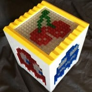 Pugs and Lego Pacman Lego Light Cherry Icon