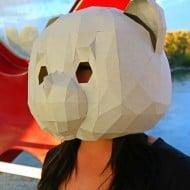 RPS Creations Teddy Bear Mask Unique Costume Idea
