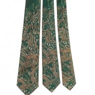 Scatterbrain Ties Circuit Board Geek Tie Unique Fashion Accessory to Buy for Him