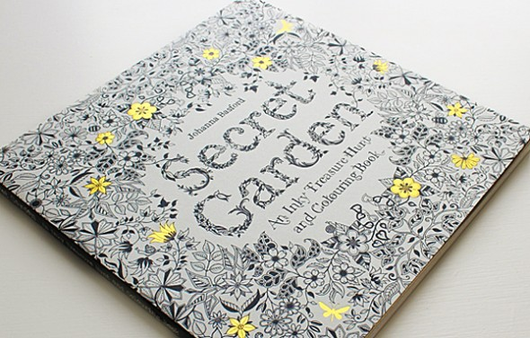 Color all the flowers you want in your very own secret garden.