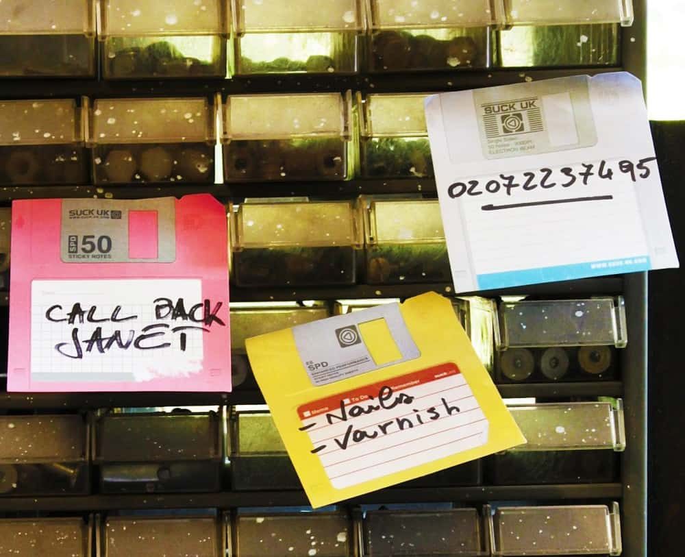 Distribute your messages in good old 3.5 floppy disks.