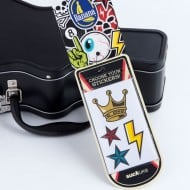 Suck UK Guitar Case Lunch Box Fun Stickers
