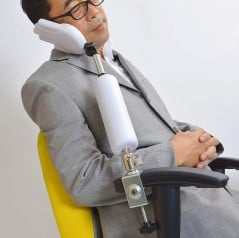 Get an extra hand to ensure proper posture while you work.