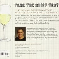 The Essential Scratch and Sniff Guide to Becoming a Wine Expert Book Back Cover