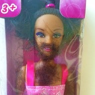 Thoughtful Tot Shave and Play Barbie Doll Buy Gag Gift