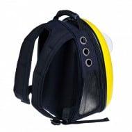 U-pet Backpack Pet Carrier Black Strap and Ventilation