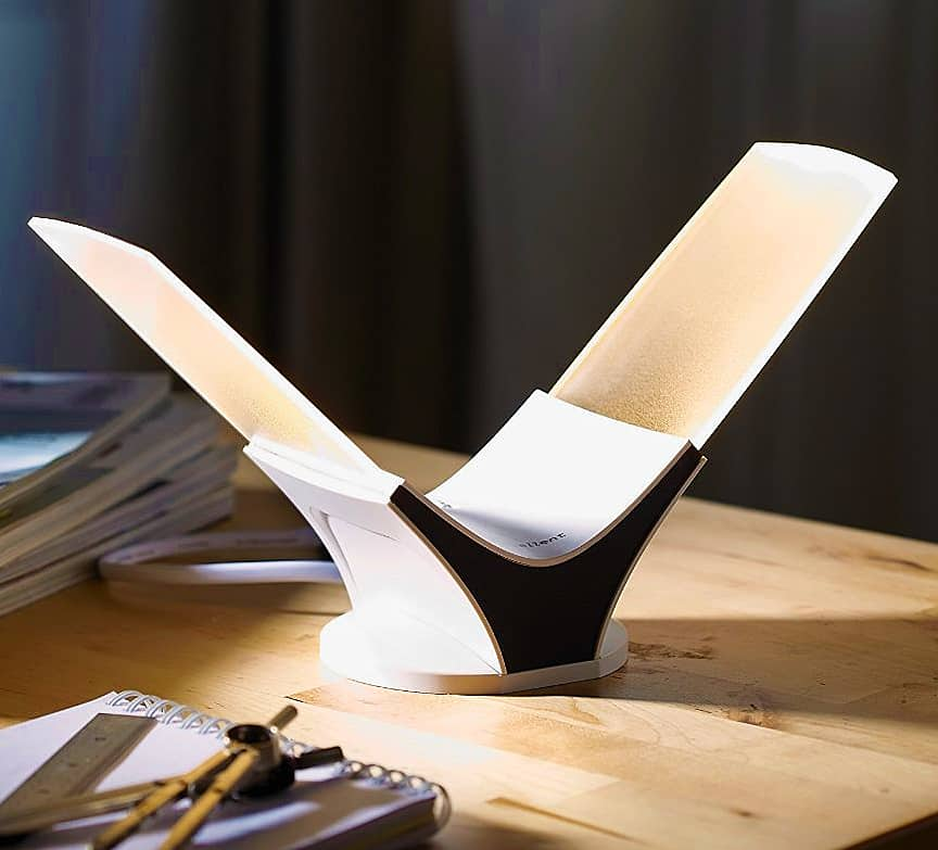 Light your desk with style and efficiency.