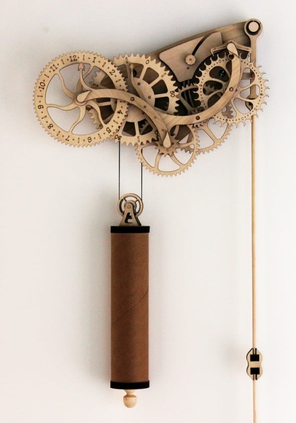 Time to build yourself a mechanical clock.