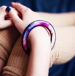 Wrap an entire galaxy around your wrist.