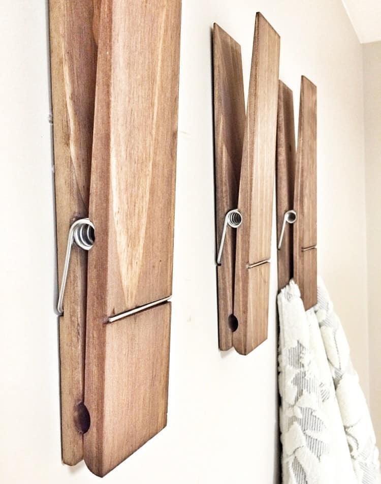 Big memories require gigantic clothespins.