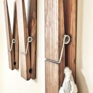 Cherry Tree Gallery Jumbo Sized Clothespin Creative Tools For Hanging
