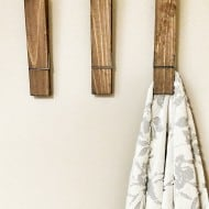 Cherry Tree Gallery Jumbo Sized Clothespin Cute Things To Display In Bathroom