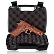 Chocolate Weapons Solid Milk Chocolate 1911 Handgun Edible Killing Machine