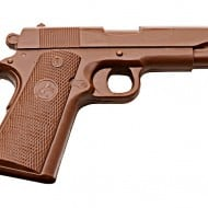 Chocolate Weapons Solid Milk Chocolate 1911 Handgun Sweets To Die For