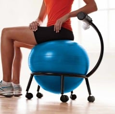 Get fit while you sit.