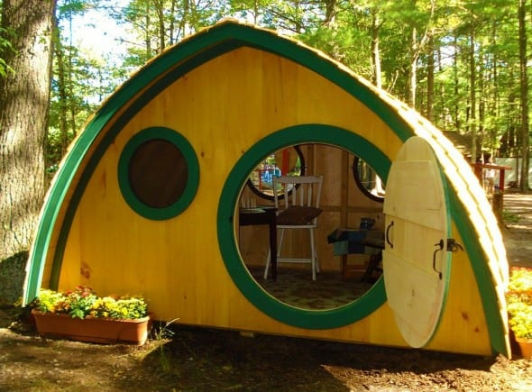 Make a Hobbit out of staying indoors.