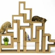 Katris Modular Cat Scratcher Kittys Play Pen
