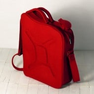 Krukru Studio Red Gas Can Bag Awesome Stuff to Buy for Him