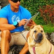 Lishinu Retractable Hands Free Dog Leash Multi Task wit Pet