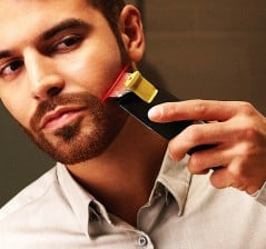 Trim your beard with laser-like precision.