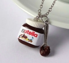 Necklace charm for the Nutella nut in you.