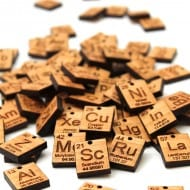 Timber Green Woods Custom Chemistry Element Keychain Uniquely Creative Periodic Table Keychain