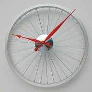 Vyconic Bicycle Wheel Clock Mancave Item to Buy