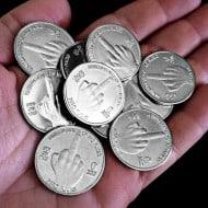 Zero Fucks Given Coin Fake Coins For Games