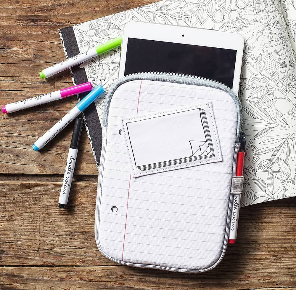 Personalize your iPad case as much as you want.