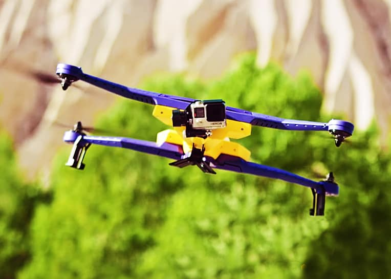 Capture life's special moments with your own auto-follow drone.