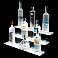 Armana Productions 3 Step Illuminated Liquor Display Shelves Drinkers Must Haves
