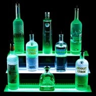 Armana Productions 3 Step Illuminated Liquor Display Shelves Fun Things To Have In A Party