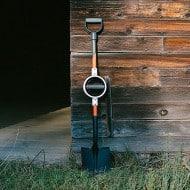 Bosse Tools Ergonomic Round Point Shovel Easy Digging Tool