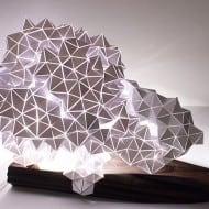 Britta Gould Geodesic Table Light Sculpture House Warming Gift Idea