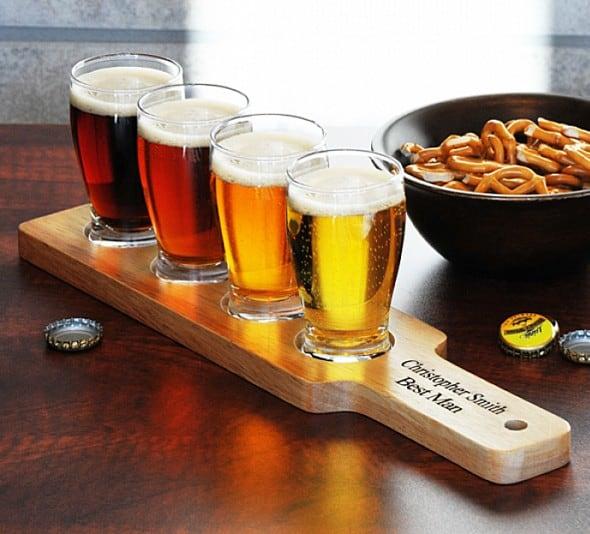 Sample beer in style.