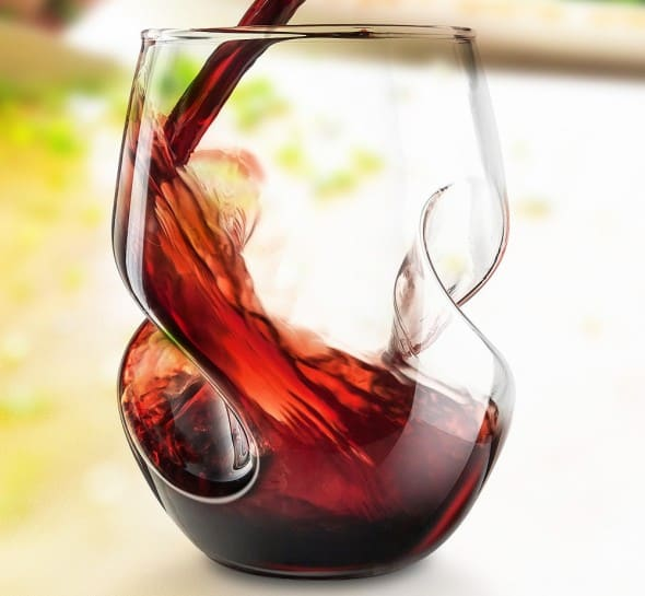 Add some twist in aerating your wine.