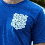 Genius Microfiber Pocket Tee Glass Cleaning Apparel