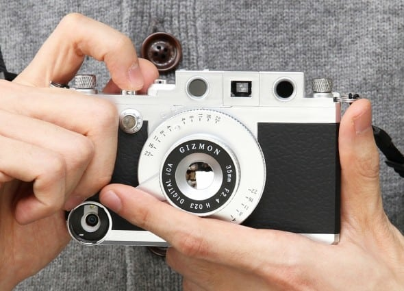 Turn your iPhone into a classic camera.