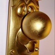 MnLake Treasures Alice In Wonderland Door Knob Display Prop House Warming Gift Idea