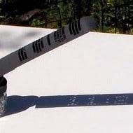 Mojoptix Digital Sundial Cool Outdoor Furniture
