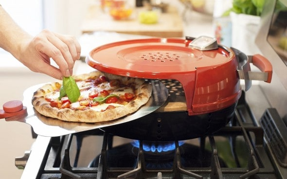 Bake pizza without an oven.