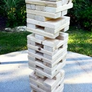 The Underground Shop Giant Jenga Lawn Game Fun Things To Have In a House Party