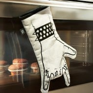We Love Rock Rock'n'roll Kitchen Glove Gift Idea For Chef