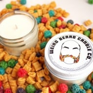 Weird Beard Candle Co. Cereal Scented Soy Candle Idea For Party Souvenir
