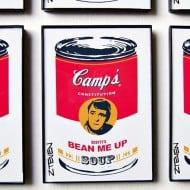 Zteven Star Trek Framed Retro Pop Art Soup Cool Collectibles