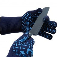 Blue Fire Pro Extreme Protection Gloves Sharp Utensil Cut Protection