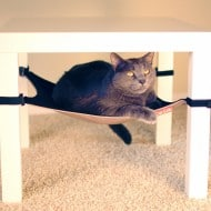 Cat Crib Cat Hammock Cute Feline Chair Accessory